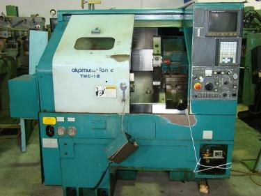 Nakamura Tome TMC 18, Fanuc 21T control, 10 HP, 4500 RPM, chucker 1998