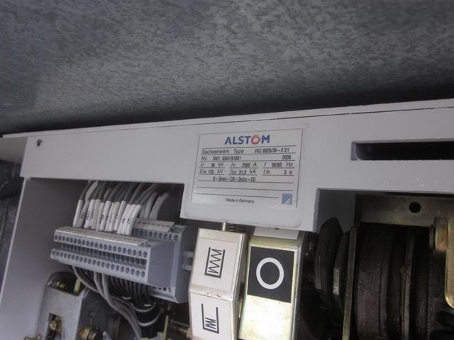 1200 Amp, ALSTOM, VXC 8025/36-2 E1, 38 KV, 2001, VACUUM
