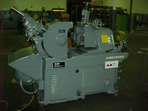 No. 2, Cincinnati, Model EA, Hyd. Profile Truing, Infeed & Thru Feed, 1941-1947, 10 In Stock