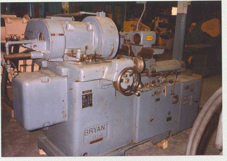No. 1116 Bryant, Manual Cross Slide, 30,000 RPM Spdl., Excellent, Gov't Surplus (2)