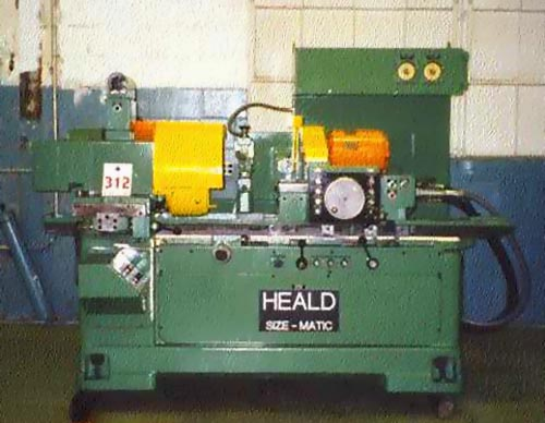 No. 272, Heald, Sizematic, Auto. Cycle, Hyd. Cross Sliding Work Head, Excellent, 1960's