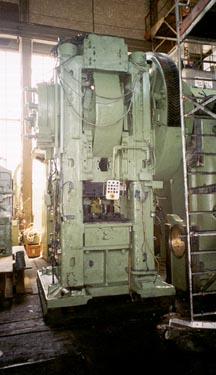1000ton,Eumuco,SP100C,250mm str,s/n83-632,'64,press pwr, 1000t, 850x900mm tbl,incl auto