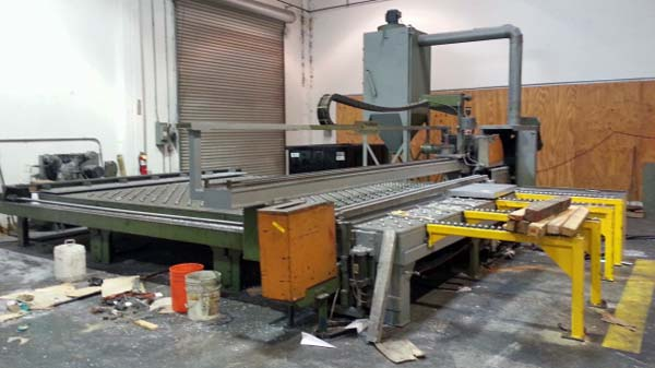"No. RS1020, SAVAGE, Non-Ferrous (Aluminum) 12'x 6"" Automatic Plate Saw, 1993"