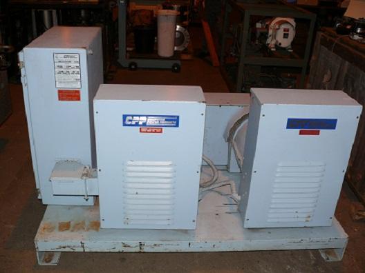 30 KW, Computer Power Prod., 3/60/230 V./50 HP Synch, 3/50/120-208 V./37 KVA, Brushless