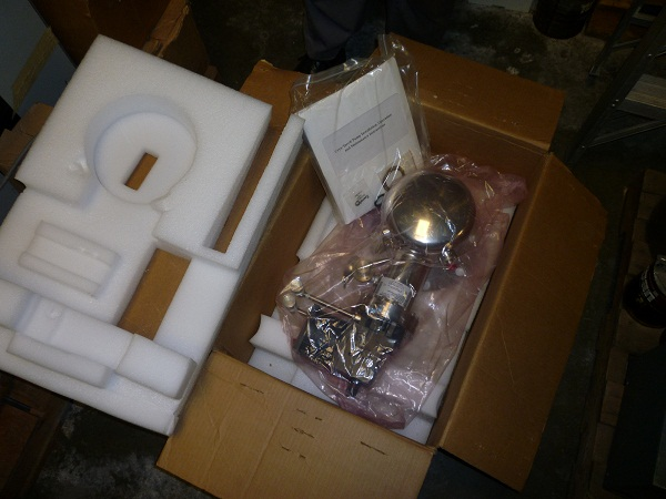 "8F CFM, CTI 8F Cyro-Torr, CTI 8F Cyro-Torr Cryogenics Pump New in box 6"" ASA flange (11"" flange OD)"