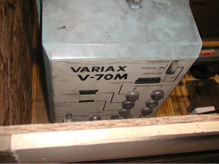 SANKYO, No. VARIAX V-70M HIGH SPEED ROLLFEED