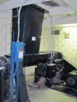 "20"" x 24"", Nelmor, No. G2024MP, Nelmor 60HP Granulator, Bin, Vacuum Pump, Conveyor. SN: 11618; 460V; Overhea"