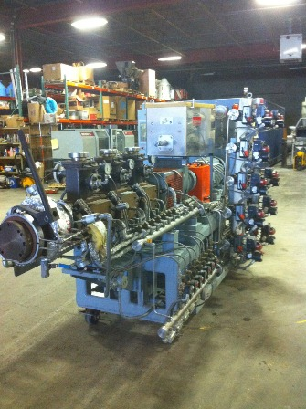 Century No. RE-3-44 L/D CENTURY 3+ RING EXTRUSION SYSTEM, RING EXTRUDER; 12 Screws