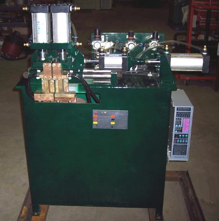 """25 KVA, Weld Tech, Vertical Type Butt Welder, 240/480VAC, welds up to 3/4""""dia"""