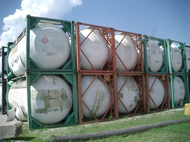 17.8 Bar Gas tanks, 2+ Quantity, 15000 L, Columbiana, 1994, Picture not of tank.