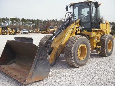Caterpillar 930H 2009, 2678 hours. Air conditioner; EROPS; Forks; Auto shift; GP bucket; 20.5-R25 tires.