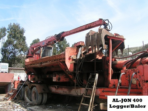 AL-JON, 1997 Al-Jon baler / logger with complete system. Works great! Unit was appraised at $180,000.00.